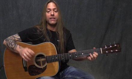 Steve Stine Guitar Lesson -Learn to Fingerpick with Double Notes for Acoustic Guitar