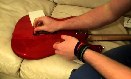 How to Restring an Electric Guitar (Beginners Guitar Lesson)