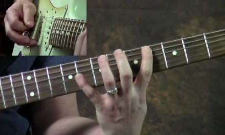 """Learn to Play """"Message In a Bottle"""" by The Police (Guitar Lesson)"""