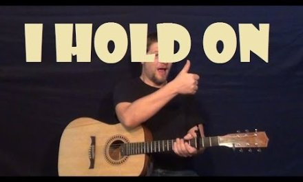 I Hold On (Dierks Bentley) Easy Guitar Lesson Strum Chords How to Play Tutorial
