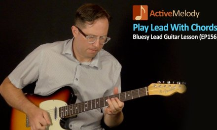 How To Play Lead Using Chords – Blues Guitar Lesson – EP156