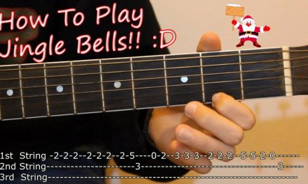How to Play Jingle Bells on Acoustic Guitar – Tabs Lesson