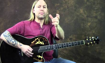 How To Play Personal Jesus Guitar Lesson by Johnny Cash Steve Stine