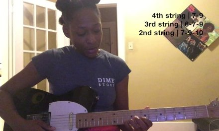 Easy Guitar Lesson -How to play a Major Scale Up&Down the Fretboard