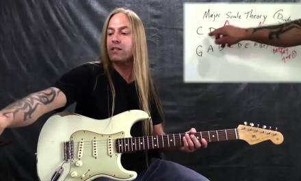 Steve Stine Guitar Lesson – Music Theory Fundamentals – Understanding the Major Diatonic Scale