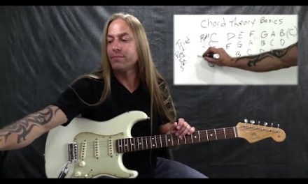 Steve Stine Guitar Lesson – Music Theory Fundamentals  – Essential Chord Theory