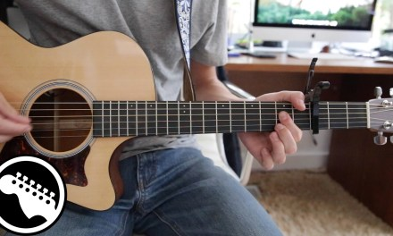 """""""Free Fallin'"""" by John Mayer Live – Acoustic Guitar Lesson (Originally played by Tom Petty)"""