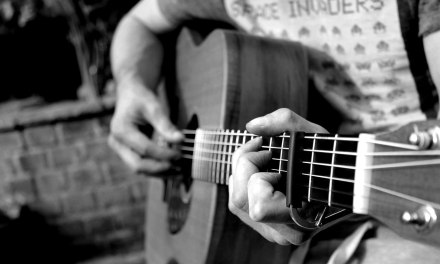 Slow Acoustic Guitar Backing Track In A Minor