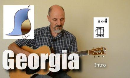 Georgia On My Mind – Guitar lesson