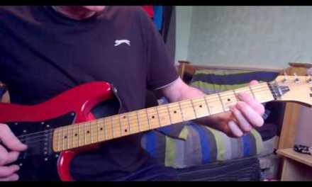 Easy peays Electric guitar blues lesson tutorial 2