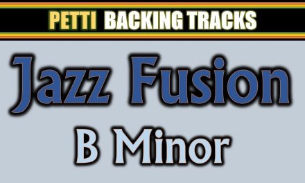 B Minor – Jazz Fusion Guitar Backing Track