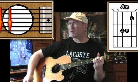 Human – Rag 'n' Bone Man – Acoustic Guitar Lesson (easy-ish)