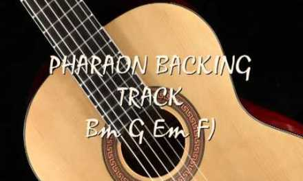 Guitar backing track flamenco pharaon Bm