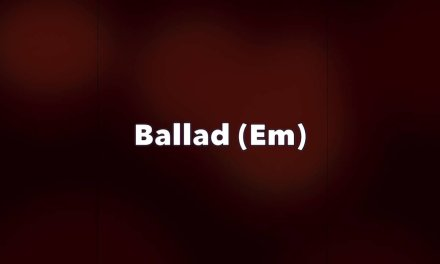 Rock Ballad – Guitar Backing Track (Em)
