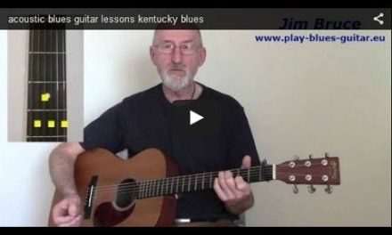 Ragtime Blues Blues Guitar – Chump man Blues – Blind Blake Cover