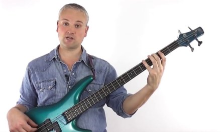 Two Octave Major Scale Position Shifts For Bass Guitar