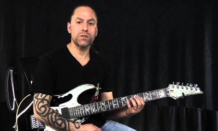 Easy Speed Picking Guitar Lick – Harmonic Minor | Steve Stine | Guitar Zoom
