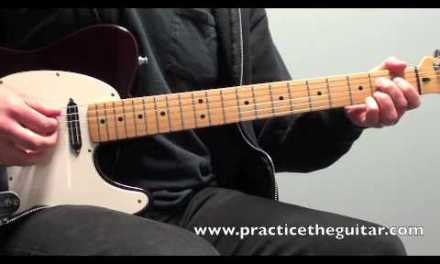 Guitar Lesson-How To Play-Rockabilly Blues Riffs In E-Backing Tracks