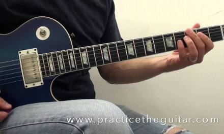 Guitar Lesson-How To Play-Jazz Blues Walking Bass In G-Backing Tracks