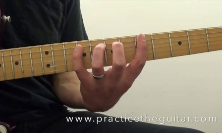 Guitar Lessons-How To Play-Fluid Dorian Legato Scales-Practice With Backing Tracks
