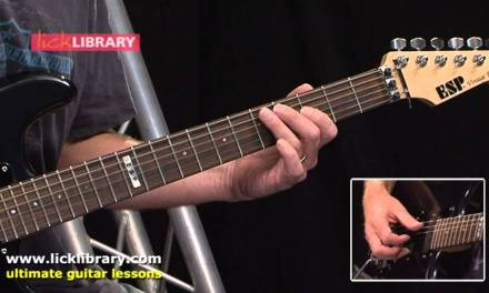 Open Voiced Chords – Guitar Lesson With Danny Gill Licklibrary