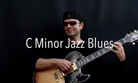 C Minor Jazz Blues – Achim Kohl – Jazz Guitar Improvisation with tabs