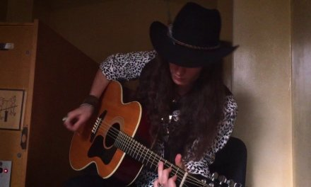 12-String Blues Guitar Solo in Acoustic Reverb Chamber