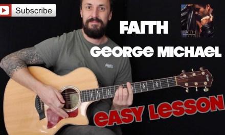 EASY GUITAR LESSON | Faith By George Michael | Super Easy Guitar