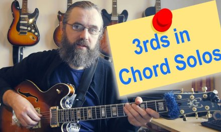 3rd intervals in Chord Solos