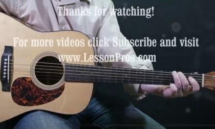 FREE guitar lesson Gm Pentatonic Scale