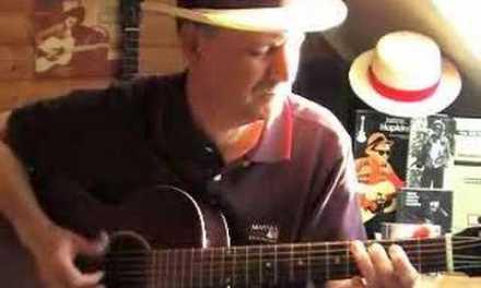 Going Down Slow – Acoustic Fingerpicking Blues – Geoff Bradford/Lightnin' Hopkins