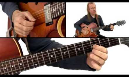 Jazz Guitar Lesson – #30 2-Key Progression: Soloing – David Becker