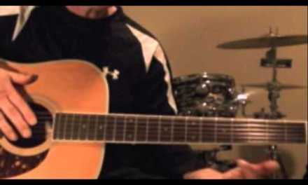 1970's ARIA 12-String Guitar Lesson: Learn how to play an Easy Blues in Open D