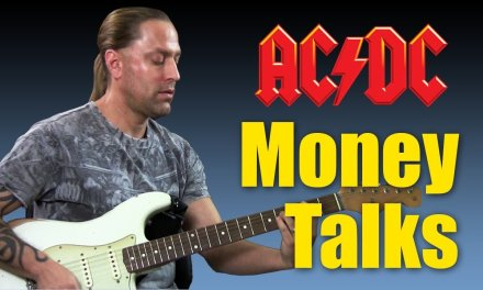 "Learn to Play ""Moneytalks"" by ACDC (Guitar Lesson)"