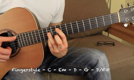 No Regrets by Magic Acoustic Guitar Lesson Fingerstyle Beginner Tutorial