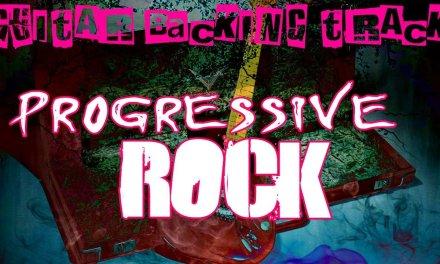 Pink Floyd Style Guitar Backing Track (Am) | 107 bpm – MegaBackingTracks