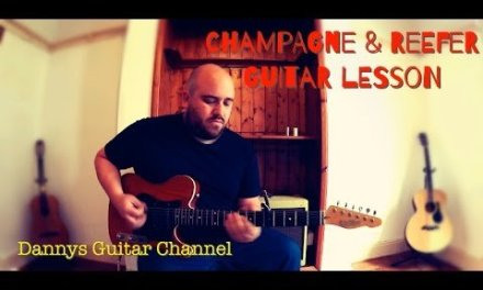 Champagne & Reefer – Chicago Blues Guitar Lesson – Muddy Waters