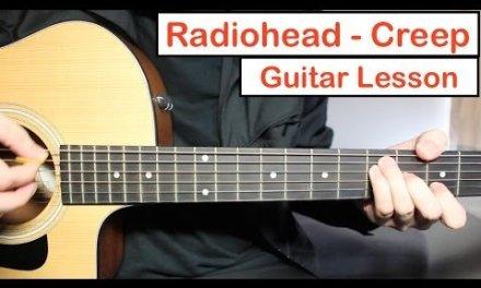 Radiohead – Creep | Guitar Lesson (Tutorial) How to play Chords + Lead