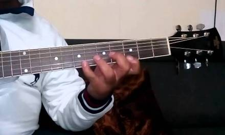 Learn Guitar in 10 days Lesson 5 of 10(G7th, GM7th,G Blues) Finger Exercise