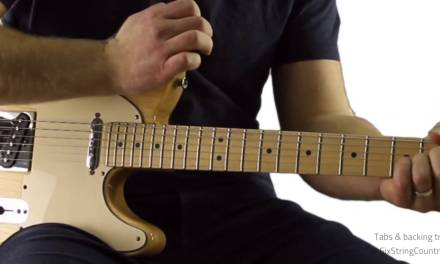 Pedal Steel Licks on Electric Guitar – Free Lessons from Six String Country
