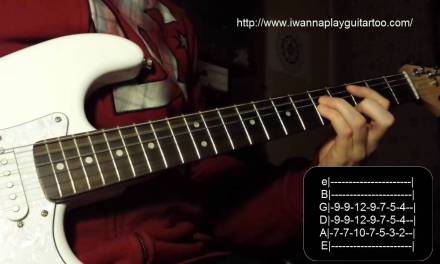 How to play Seven Nation Army by the White Stripes – Tutorial tab guitar lesson