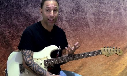 Steve Stine Guitar Lesson – Playing in the Style of David Gilmour (Rhythm)