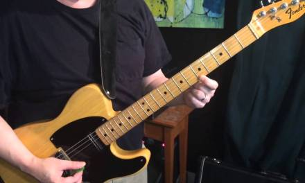 Guitar Lesson: A Major Scale Harmonized in Sixths