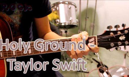 Holy Ground – Taylor Swift – Guitar Lesson Tutorial Chords How To