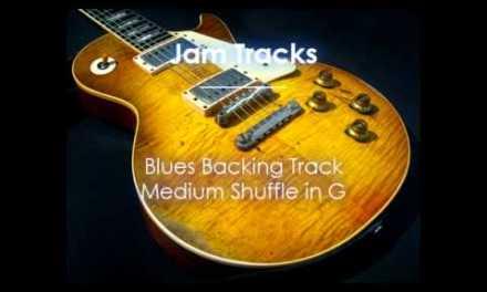 Blues Backing Track (G) – TheGuitarLab.net –
