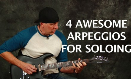 4 Arpeggios anyone can solo with (Learn to Jam)