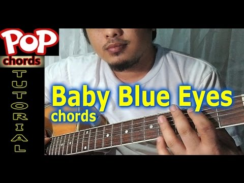 Baby Blue Eyes Chords A Rocket To The Moon Guitar Tutorial By