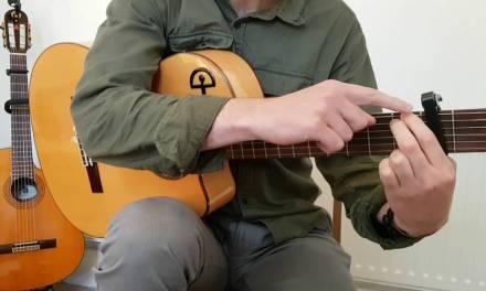 Tangos Flamenco Guitar Lesson – Falseta with Thumb Rest Strokes and Golpe (FLT- 002)