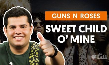 Sweet Child O' Mine – Guns N' Roses (aula de guitarra)