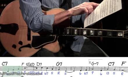 Frank Potenza – Jazz Guitar Masterclass 1